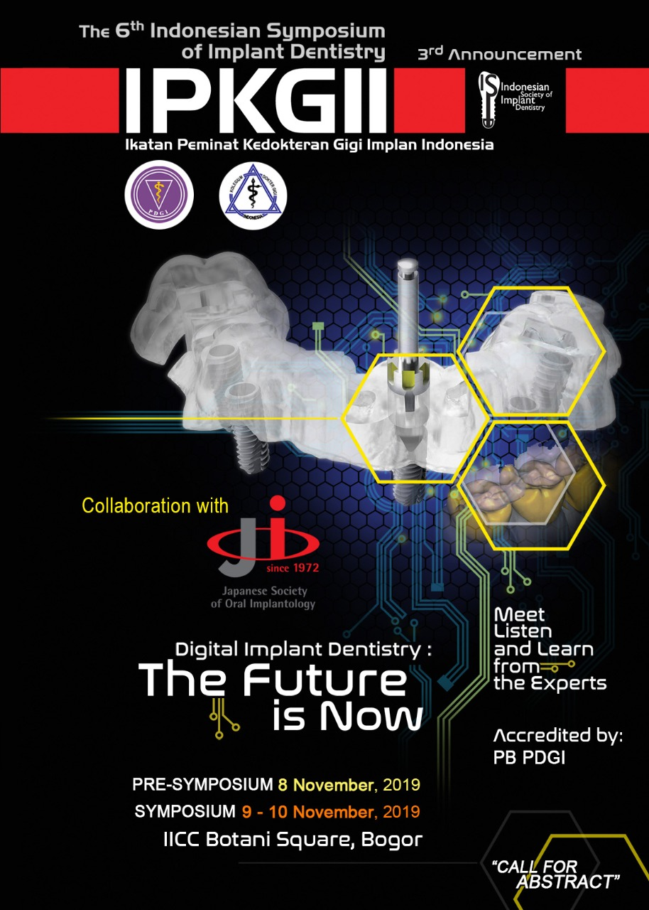 The 6th Indonesian Symposium of Implant Dentistry